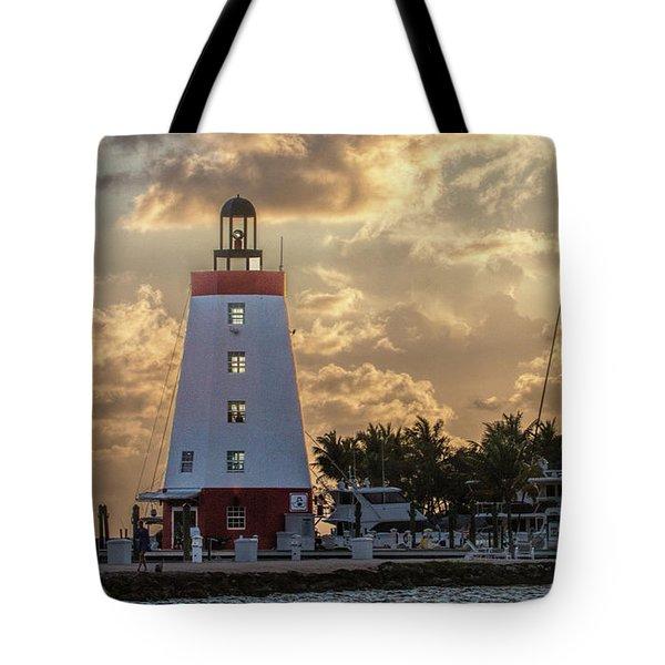 Marathon Light House Tote Bag