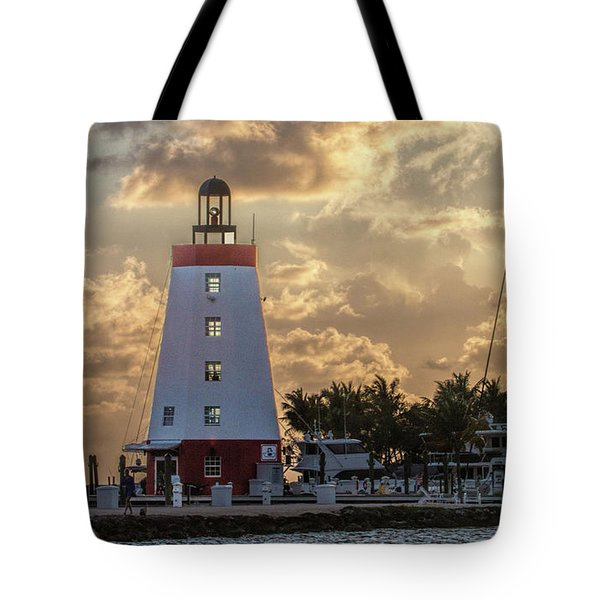Marathon Light House Tote Bag