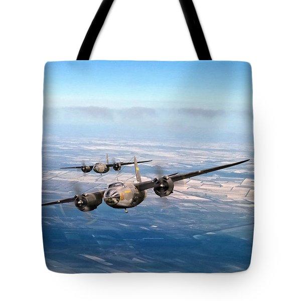 Marauder Twoship Tote Bag