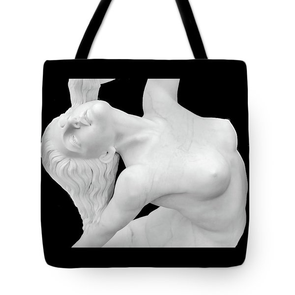 Marbalized Beauty Tote Bag