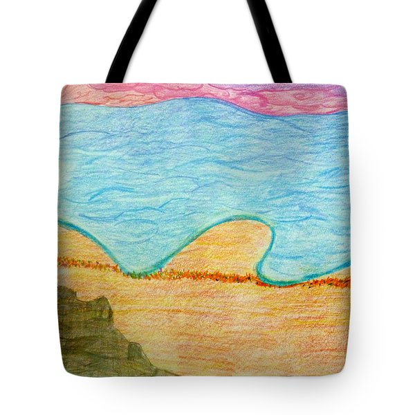 Marbella Beach Tote Bag