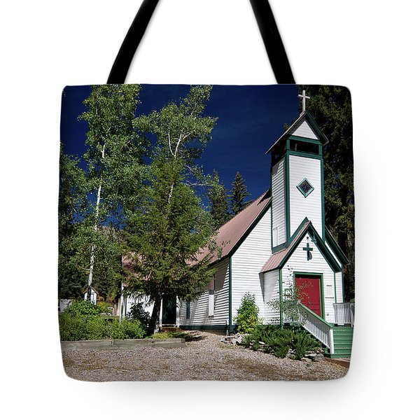 Marble Chapel Tote Bag