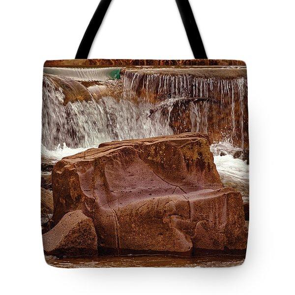 Marble Creek Shut-ins Tote Bag by Robert Charity