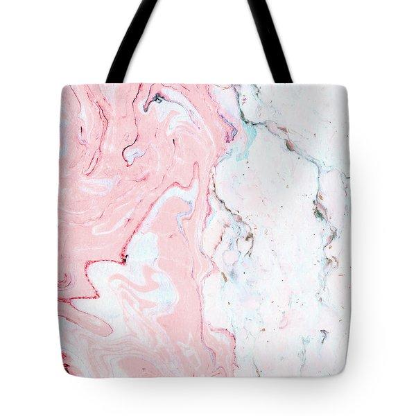 Marble Love Tote Bag