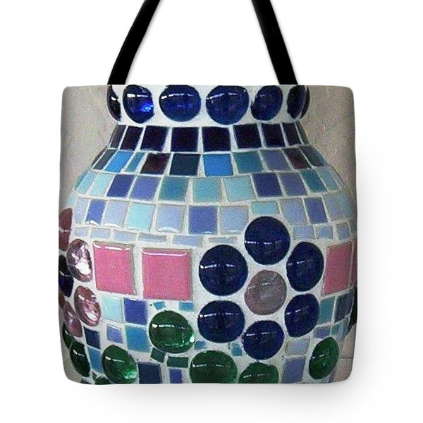 Tote Bag featuring the glass art Marble Vase by Jamie Frier