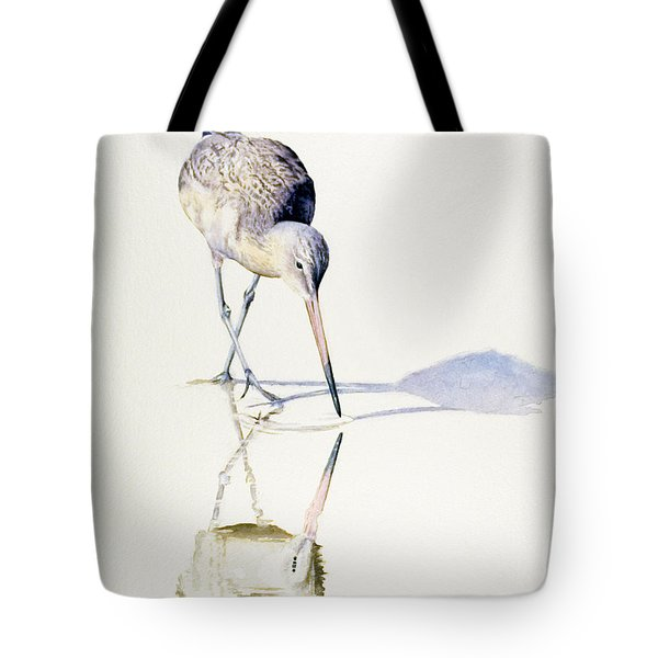 Marbled Godwit Times Three Tote Bag