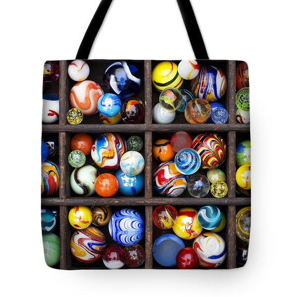 Marbleous Tote Bag by Tim Gainey