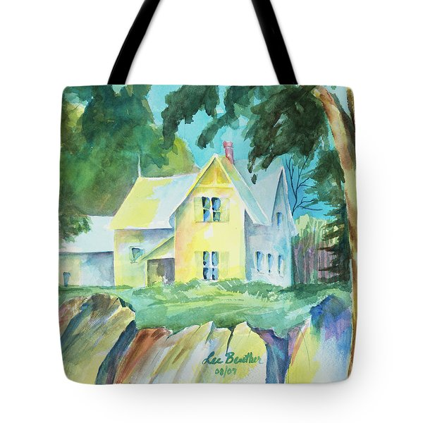 Marblehead Cottage Tote Bag