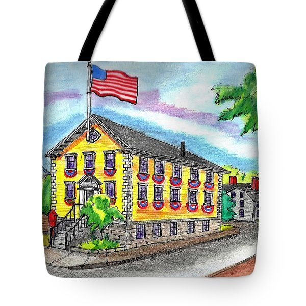 Marblehead Icon Tote Bag