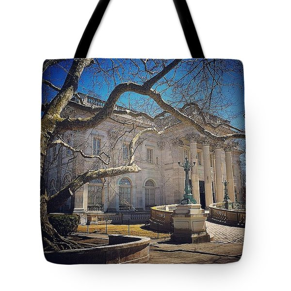 Marble House Tote Bag