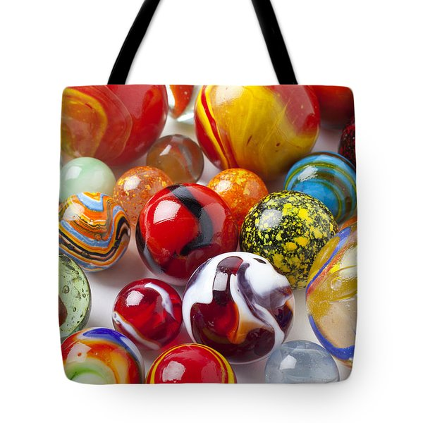 Marbles Close Up Tote Bag by Garry Gay