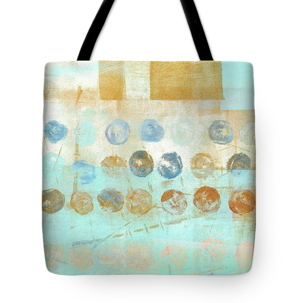 Tote Bag featuring the mixed media Marbles Found Number 1 by Carol Leigh