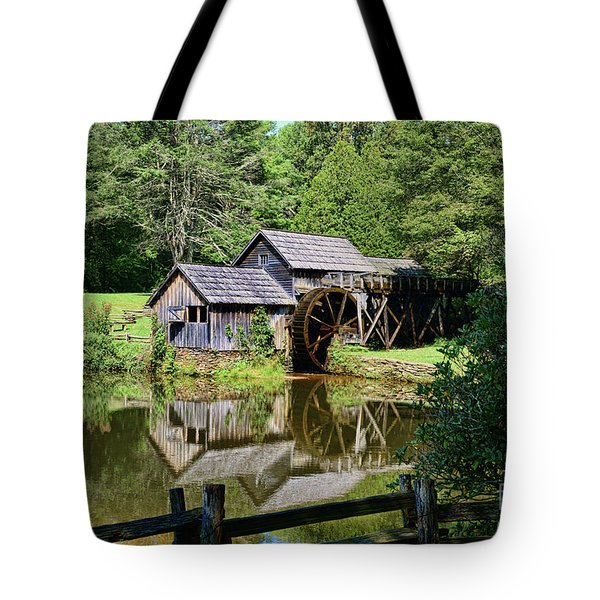 Tote Bag featuring the photograph Marby Mill 2 by Paul Ward