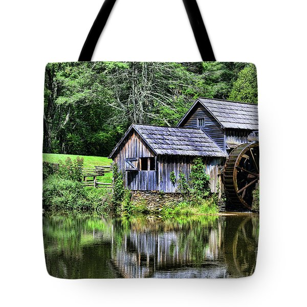 Tote Bag featuring the photograph Marby Mill 3 by Paul Ward