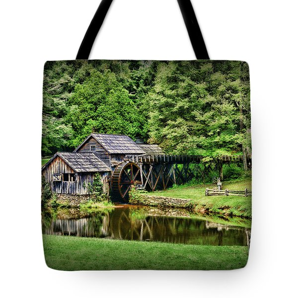 Tote Bag featuring the photograph Marby Mill Landscape by Paul Ward