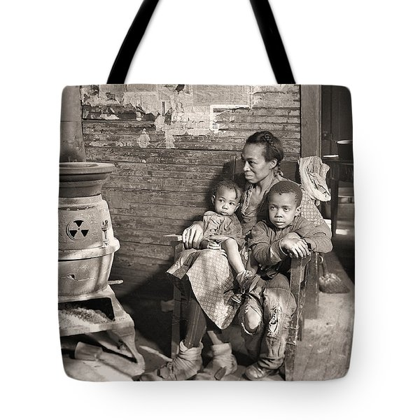 March 1937 Scott's Run, West Virginia Johnson Family. Tote Bag