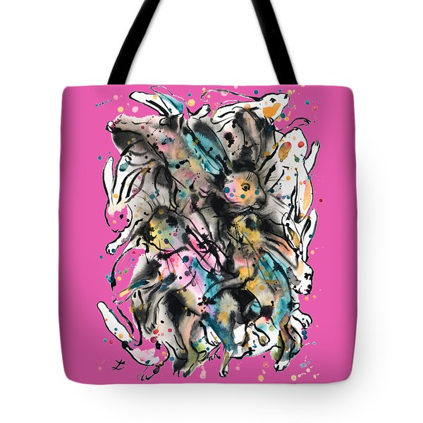 March Hares Tote Bag