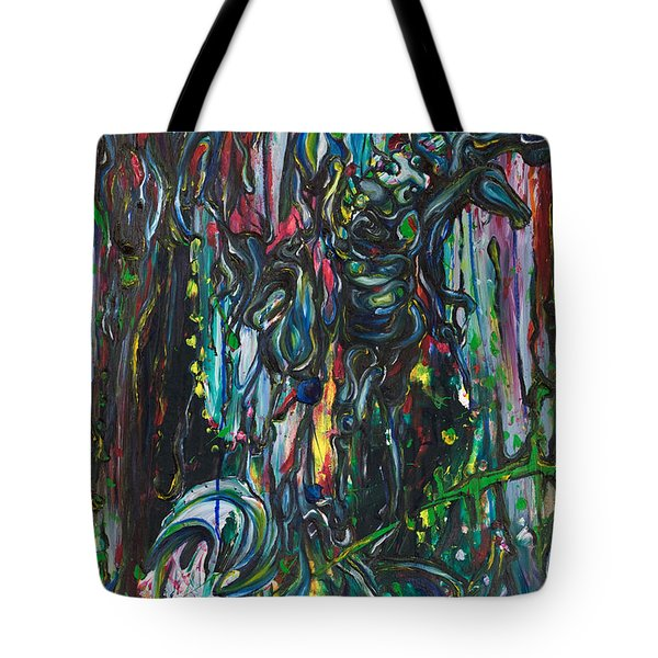 March Into The Sea Tote Bag by Sheridan Furrer