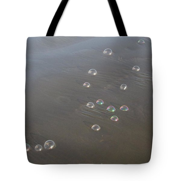 March Of The Bubbles Tote Bag