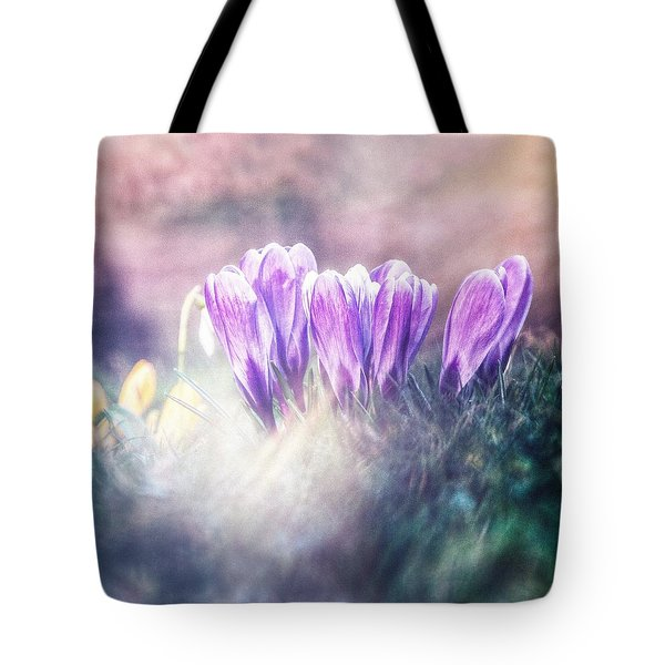 March Of The Spring Soldiers Tote Bag