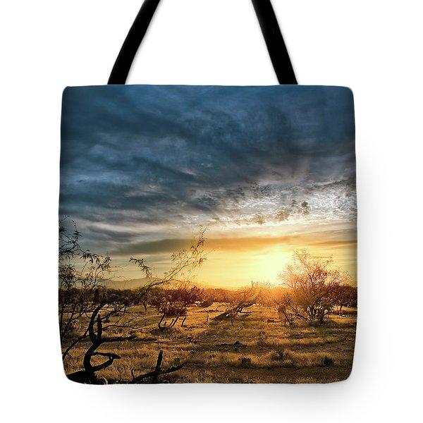 March Sunrise Tote Bag