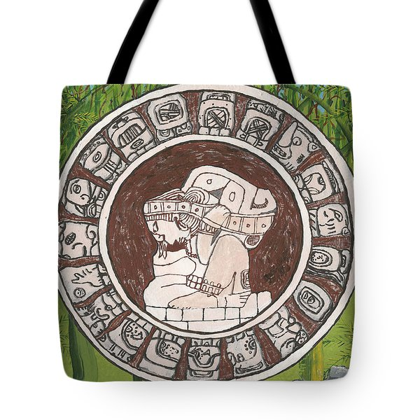 March  The Mayan Calendar Tote Bag