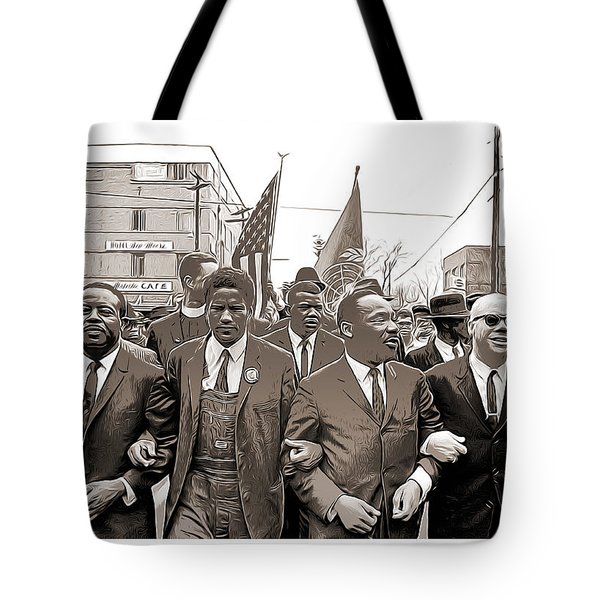 March Through Selma Tote Bag