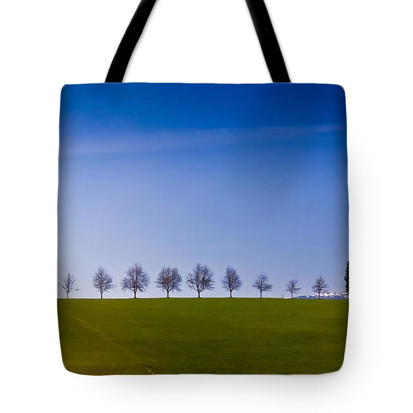 March To The Forest Tote Bag