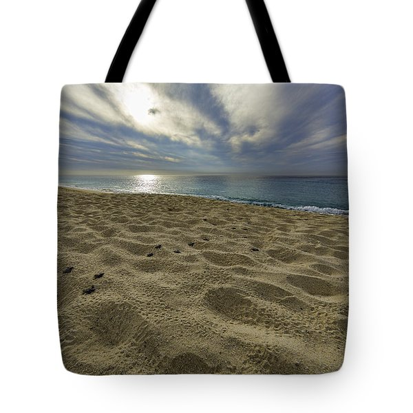 March To The Sea Tote Bag