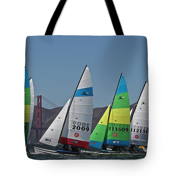 Marching Cats Tote Bag