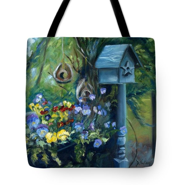 Marcia's Garden Tote Bag by Donna Tuten