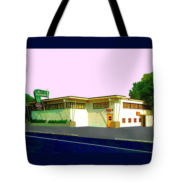 Marconi's Restaurant Tote Bag