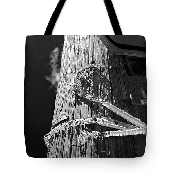 Tote Bag featuring the photograph Mardi Gras Aftermath 1 by Maggy Marsh