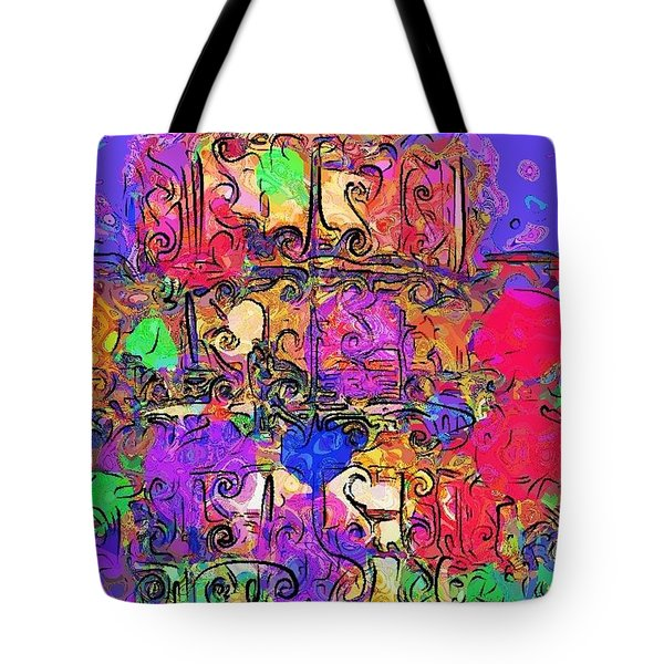 Mardi Gras Tote Bag by Alec Drake