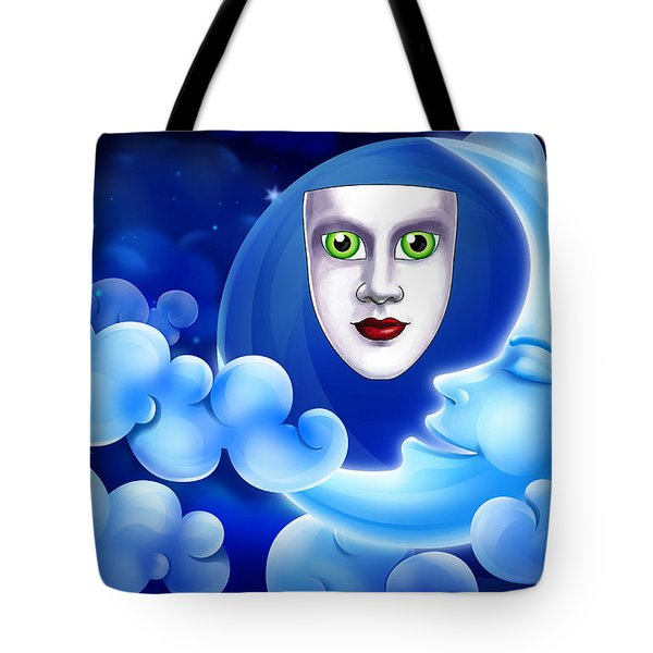 Mardi Gras At Night Tote Bag