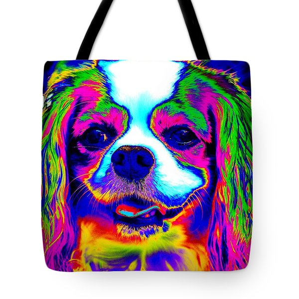 Mardi Gras Dog Tote Bag