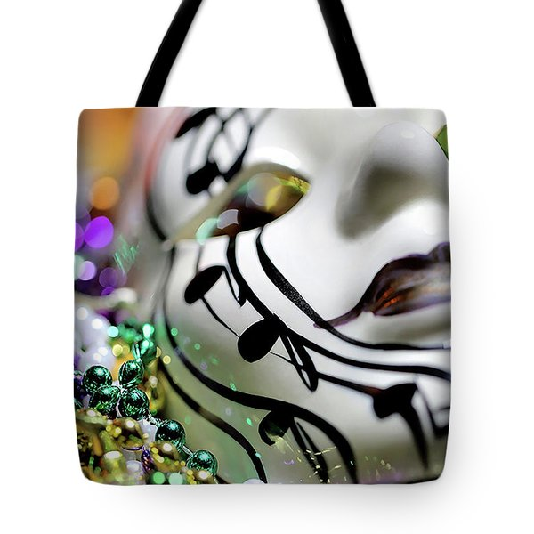 Mardi Gras I Tote Bag by Trish Mistric