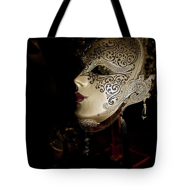 Mardi Gras Mask Tote Bag by Christopher Holmes