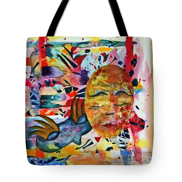 Tote Bag featuring the painting Mardi Gras by Terri Mills
