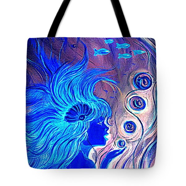 Maremaid  Tote Bag by Yolanda Rodriguez