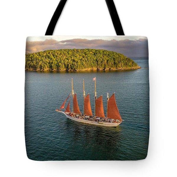 Margaret Todd Schooner Tote Bag