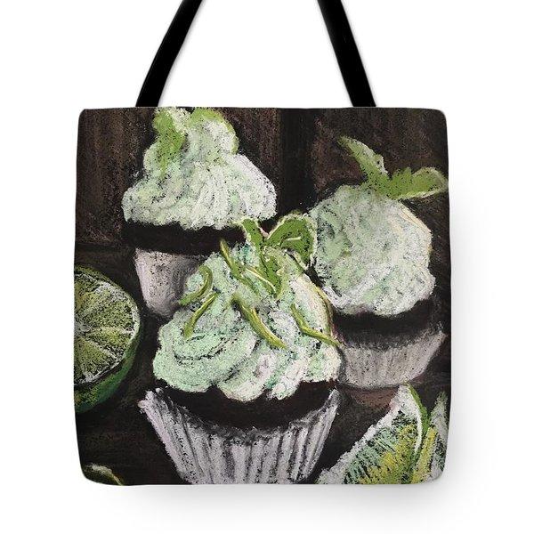 Margarita Cupcakes Tote Bag