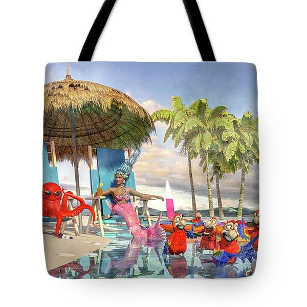 Margaritaville Caribbean Islands Escape Tote Bag