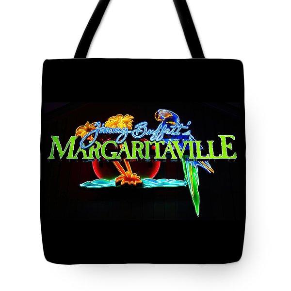 Margaritaville Neon Tote Bag