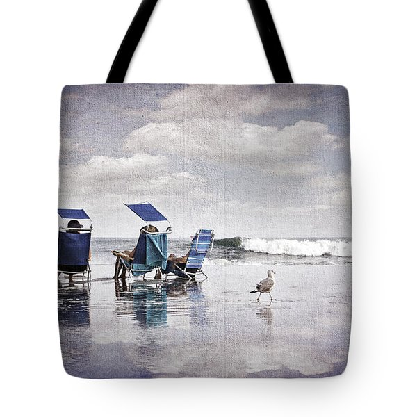 Margate Beach Relaxation Tote Bag