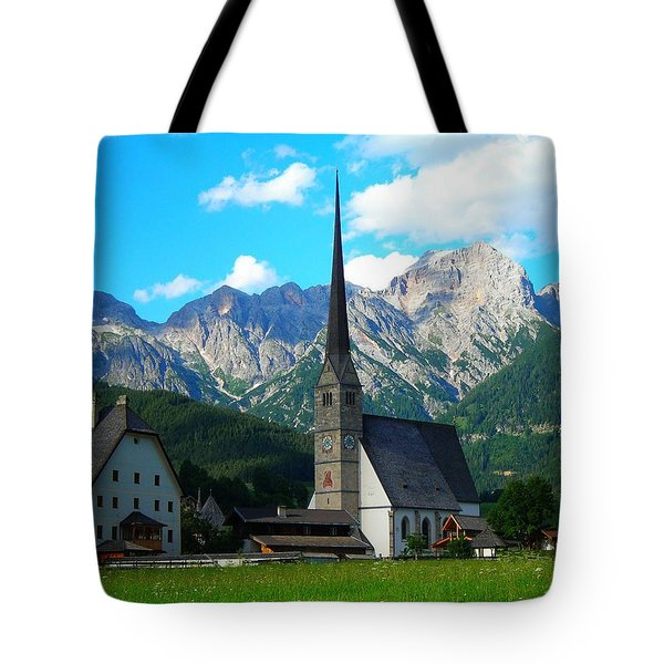 Maria Alm Am Steinernen Meer Tote Bag