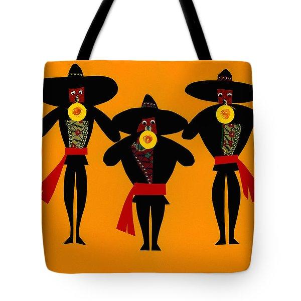 Mariachi Band Tote Bag