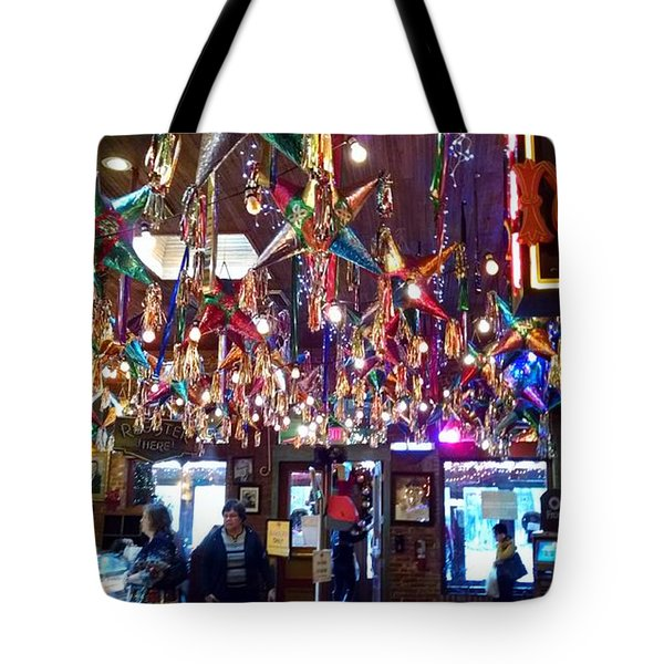 Mariachi Bar In San Antonio Tote Bag