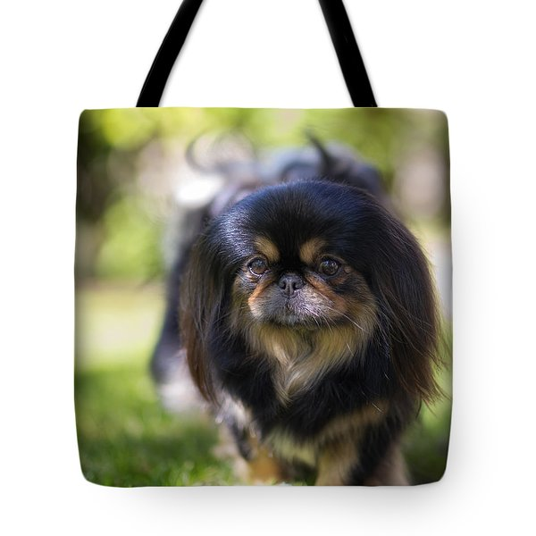 Marie Portrait Tote Bag by Ryan Manuel