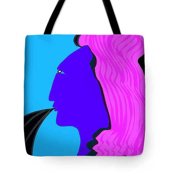 Marie Speaks Tote Bag